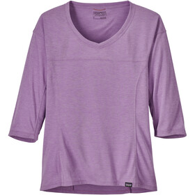 Patagonia W's Nine Trails Bike Jersey Light Acai